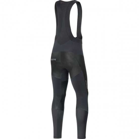 Calção GORE C7 Partial Gore Windstopper Pro Bibtights Black