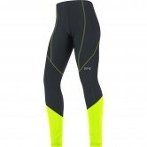 GORE C3 Thermo Lady Tights Black / Neon Yellow