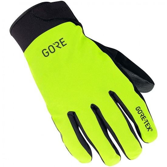 Guantes GORE C5 Gore-Tex Thermo Neon Yellow / Black