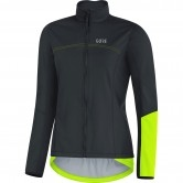 GORE C5 Gore Windstopper Thermo Lady Black / Neon Yellow