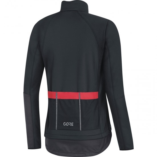 GORE C5 Gore Windstopper Thermo Lady Black / Terra Grey Jacket