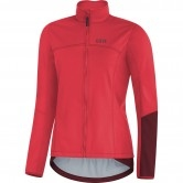 GORE C5 Gore Windstopper Thermo Lady Hibiscus Pink / Chestnut Red