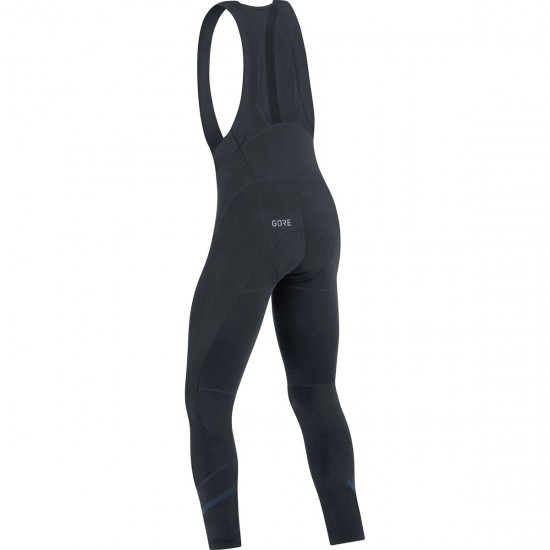 C5 Thermo Bibtights Black