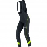 C5 Thermo Bibtights Black / Neon Yellow