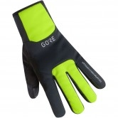 M Gore Windstopper Thermo Black / Neon Yellow