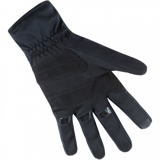 Guantes GORE M Gore Windstopper Thermo Black / Neon Yellow