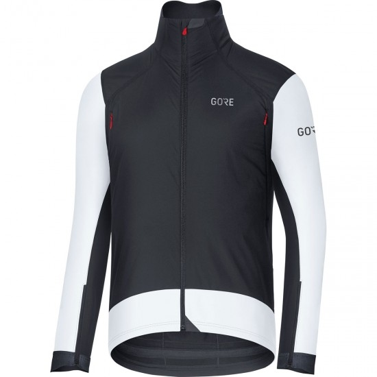 GORE C7 Gore Windstopper Pro Black / White Jacket