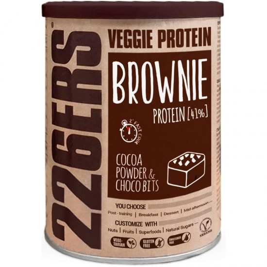 Nutrición 226ERS Veggie Protein Brownie Cocoa Powder & Chocobits