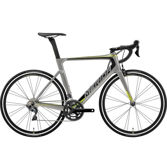 Bicicleta de carretera MERIDA Reacto 5000 2019 Black / Green / Grey
