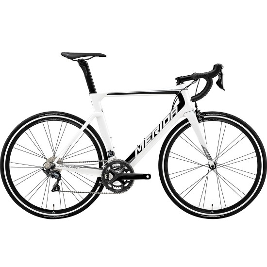 MERIDA Reacto 5000 2019 White / Black / Grey Road bike