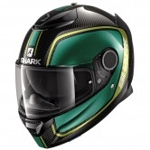 SHARK Spartan Carbon 1.2 Priona Carbon / Green / Gold