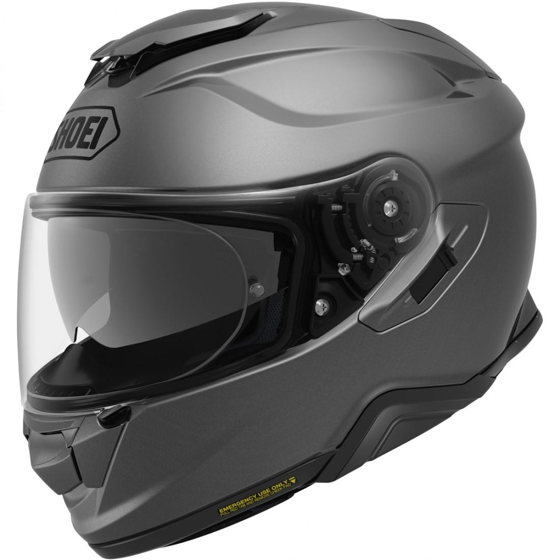 shoei gt air 2 matt deep grey helmet motocard. Black Bedroom Furniture Sets. Home Design Ideas