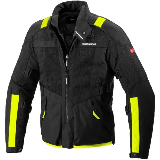 Jacke SPIDI Netrunner H2Out Yellow Fluo
