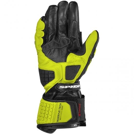 Guantes SPIDI Carbo Track Evo Black / Yellow Fluo