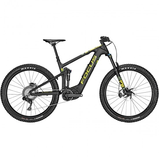 "Bicicleta de montaña FOCUS Jam2 9.7 Plus 27,5"" 2019 Black / Lime"