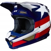 FOX V1 2019 Regl SE MXON White / Red / Blue