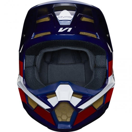 Casque FOX V1 2019 Regl SE MXON White / Red / Blue