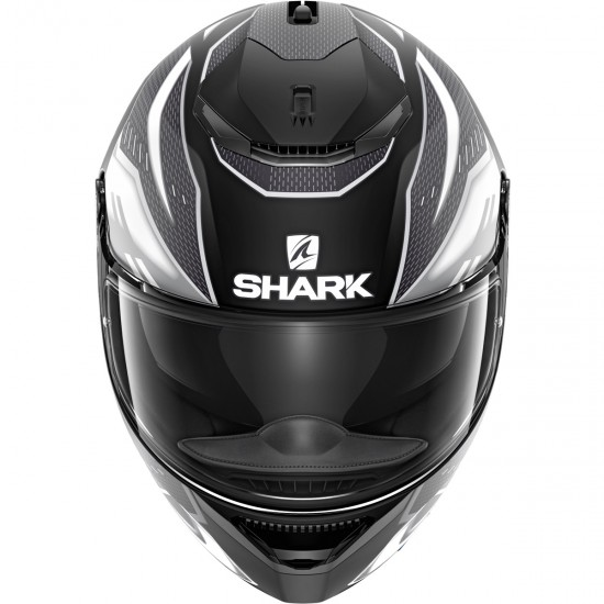 Casco SHARK Spartan 1.2 Antheon Mat Black / White / Black
