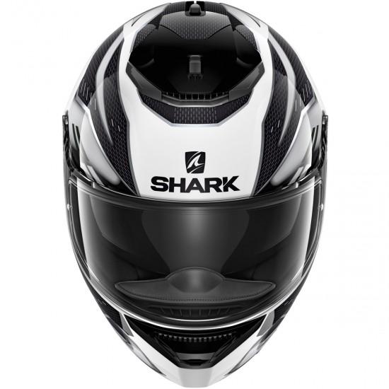 Casco SHARK Spartan 1.2 Antheon White / Silver / Black
