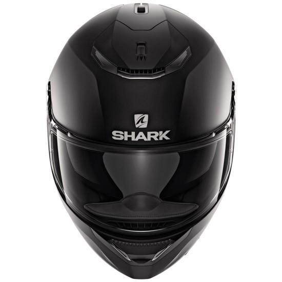 Helm SHARK Spartan 1.2 Blank Mat Black