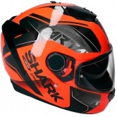 SHARK Spartan 1.2 Karken Orange / Black / Black