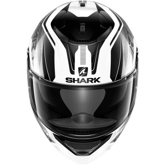 Casco SHARK Spartan 1.2 Karken White / Black / Black