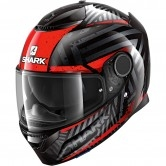 SHARK Spartan 1.2 Kobrak Black / Red / Red