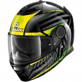 SHARK Spartan 1.2 Kobrak Black / Yellow / Green