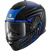 Spartan 1.2 Kobrak Mat Black / Blue / Blue