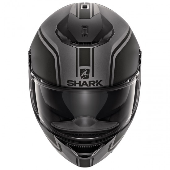 Casco SHARK Spartan 1.2 Priona Mat Anthracite / Black / Anthracite