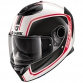 SHARK Spartan 1.2 Priona White / Black / Red