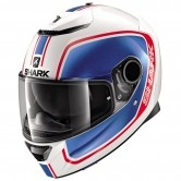 SHARK Spartan 1.2 Priona White / Blue / Red