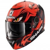 SHARK Spartan 1.2 Replica Lorenzo Austrian GP Mat Red / Black / Red