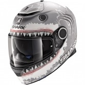 SHARK Spartan 1.2 Replica Lorenzo White Shark Mat Silver / White / Anthracite