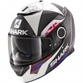 SHARK Spartan 1.2 Replica Redding 2017 Mat Black / Blue / White