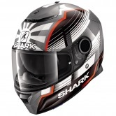SHARK Spartan 1.2 Replica Zarco Malaysian GP Anthracite / White / Red