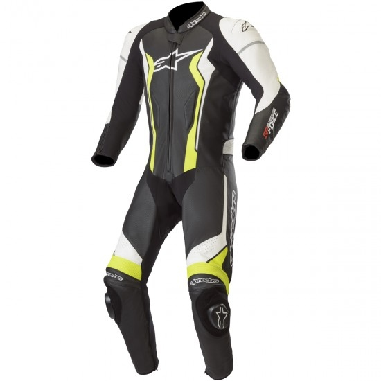 Combinaison ALPINESTARS GP Force Professional Black / White / Yellow Fluo