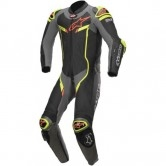 ALPINESTARS GP Pro V2 Professional for Tech-Air Black / Metallic Grey / Yellow Fluo
