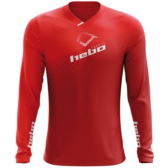 HEBO Tech 10 Evo Red Jersey