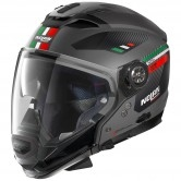 NOLAN N70-2 GT Bellavista N-Com Flat Grey / Green / Red