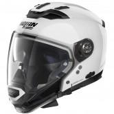 NOLAN N70-2 GT Classic N-Com Metal White