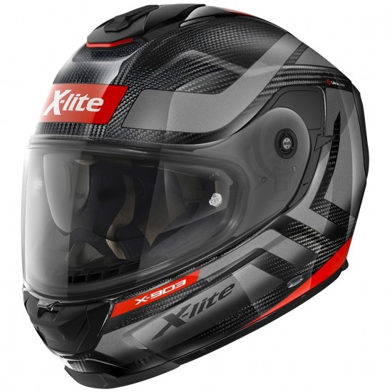 Casco X-LITE X-903 Ultra Carbon Airborne N-Com Carbon / Anthracite / Red