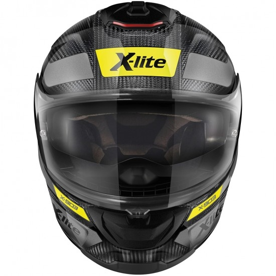 Helm X-LITE X-903 Ultra Carbon Airborne N-Com Carbon / Anthracite / Yellow