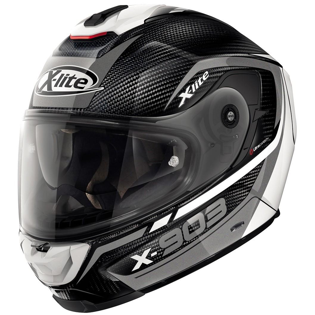 x lite x 903 ultra carbon cavalcade n com carbon white helmet motocard. Black Bedroom Furniture Sets. Home Design Ideas