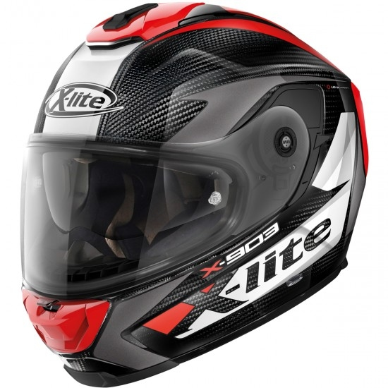 Helm X-LITE X-903 Ultra Carbon Nobiles N-Com Black / Red