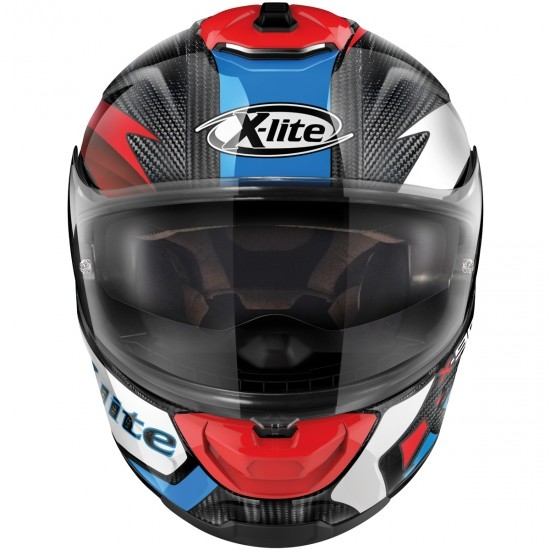 Helm X-LITE X-903 Ultra Carbon Nobiles N-Com Blue / Red