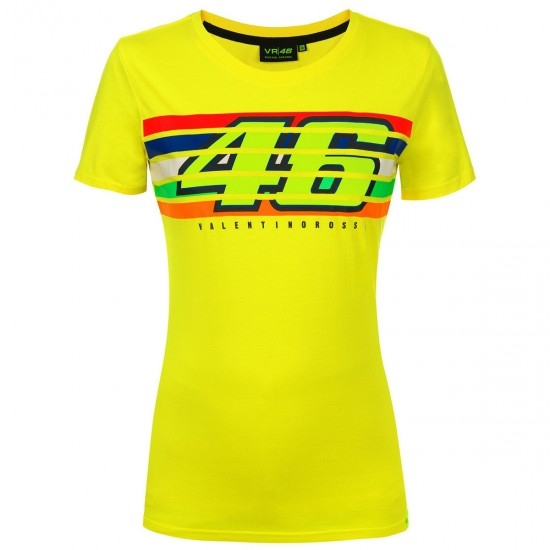 VR46 Rossi 46 Stripes 352501 Lady Jersey