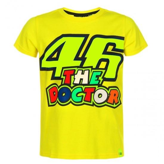 Camiseta VR46 Rossi 46 The Doctor 353401 Junior