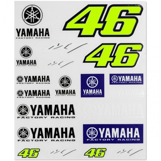 Autocolante VR46 YAMAHA  363303