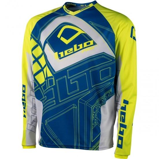 Maglietta HEBO Pro 19 Junior Lime